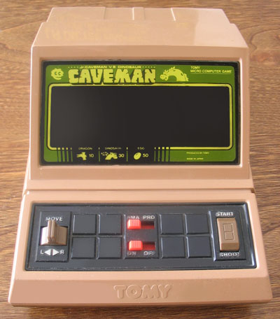 Les game & watch / Table Top ORLI MECCANO TOMY... Caveman